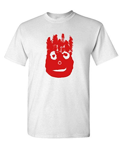 (Volleyball Bloody FACE - Ocean Movie Hanks - Cotton T-Shirt, 3XL, White USA)