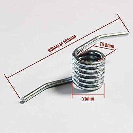 F-MINGNIAN-SPRING 1//10//50//100//500//1000 pi/èces Cric Torsion poign/ée Ressort de Rappel Taille : 1 pc