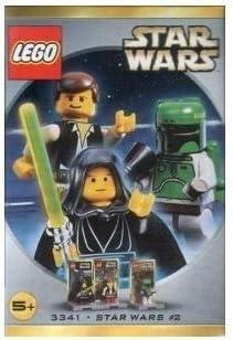 Star Wars Lego #3341 Figure Set Luke Skywalker, Han Solo & Boba Fett