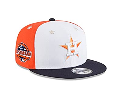 New Era Houston Astros 2018 MLB All-Star Game 9FIFTY Snapback Adjustable Hat – White/Navy