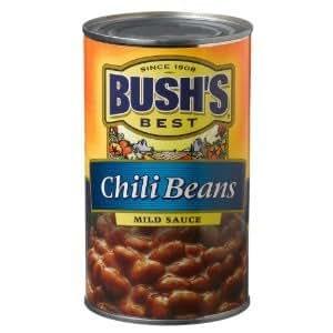 Amazon.com : Bush's Best Chili Beans, Mild Sauce 27 oz ...