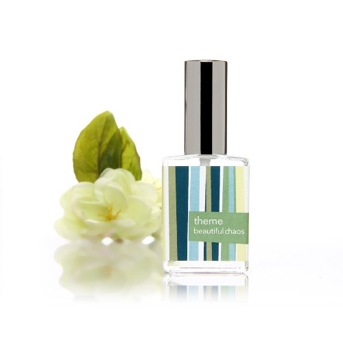 Beautiful Chaos perfume spray. Green fragrance with notes of white florals creating an evocative, and interesting perfume.