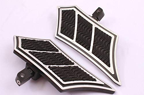 GCT m11-4 chot 10 8812 FRONT BILLET FOOT BOARD FOOTBOARDS FOOTPEG FOOTPEGS FOOTREST FOOTRESTS FLOORBOARD FLOORBOARDS FOR YAMAHA Road Star Warrior 2002-2009