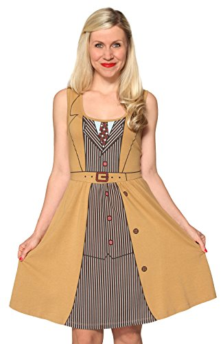 Her Universe Doctor David Tennant Tenth Doctor Costume Dress Size: Small ()