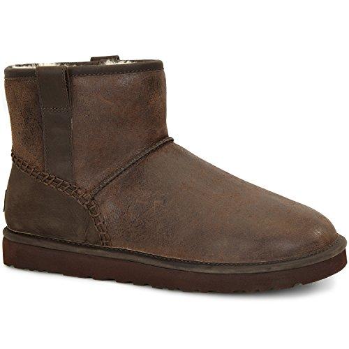 Ugg Australia Mens Classic Mini Stitch Boot Stout Size 8