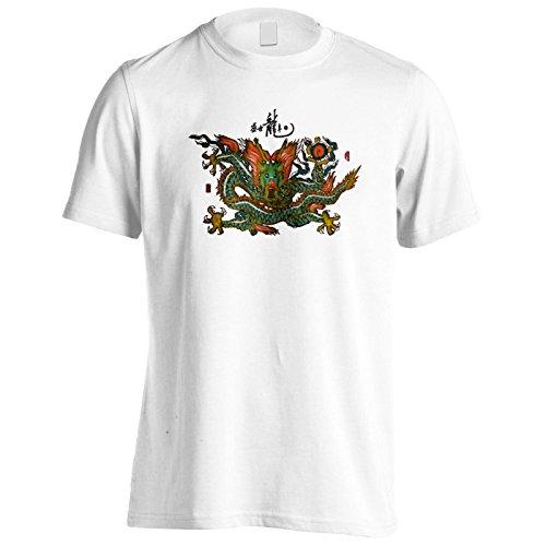 Neues Blühendes Drachenjahr Herren T-Shirt l632m