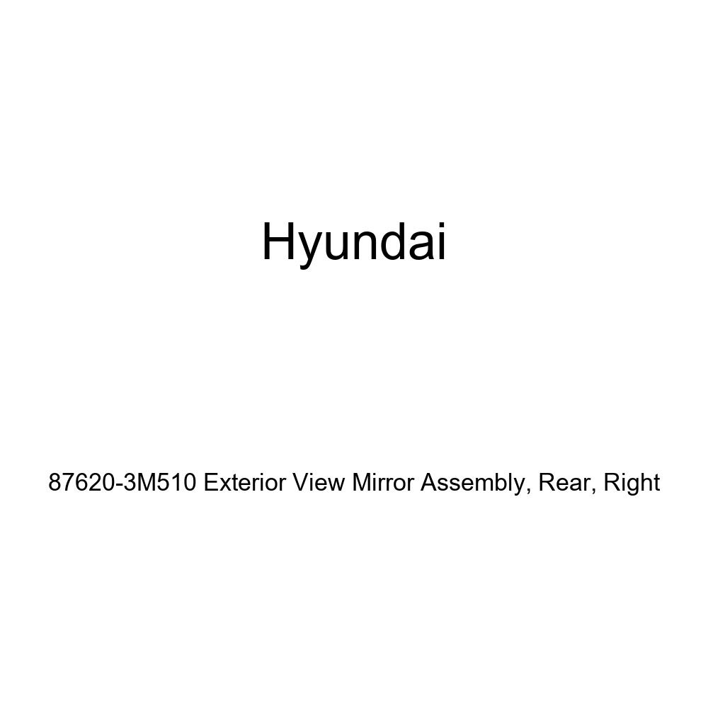 Genuine Hyundai 87620-3M510 Exterior View Mirror Assembly Rear Right