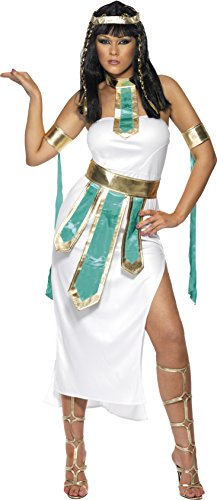 Smiffy's Women's Jewel Of The Nile Costume, Dress, Armband and Belt, Legends, Serious Fun, Size 6-8, (Jewel Of The Nile Costume)