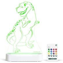 Aloka Trex Starlight Multi-Colored LED Light with Remote Control, Multi-Color Changing, 8 inch