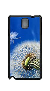 Hard Skin Case Cover Shell case for samsung galaxy note 3 for girls - Dandelion blue sky