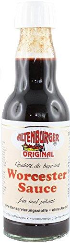 Altenburger Worcestersauce, das Original 2 Flaschen je 200 ml