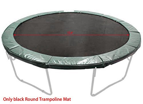 neudas Trampoline Replacement Mat for 14ft Round Trampoline with 72 V-rings Springs