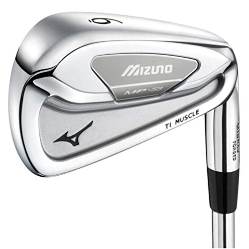 Mizuno MP 59 Single Iron 3 Iron Stock Steel Shaft Steel Stiff Right Handed 41.25 in by Mizuno