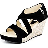 Kanchan Women's Wedges Sandal