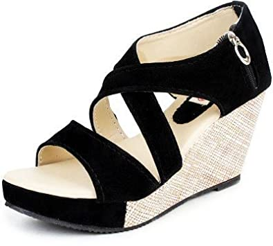4a5e82740 Kanchan Women s Wedges Sandal  Buy Online at Low Prices in India ...