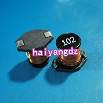 Batcus 5pcs/SMD inductors 3340 1MH Print:102 0 76A Winding Power