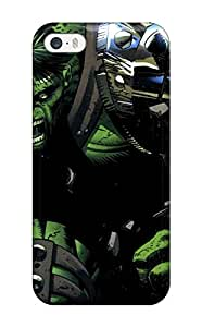 New The Hulk With Cyborg Arm Skin Case Cover Shatterproof Case For Iphone 5/5s 4823426K46388828