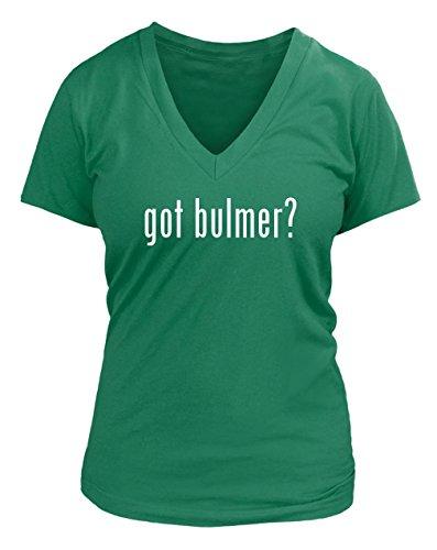 got-bulmer-juniors-cut-womens-v-neck-t-shirt-various-sizes-colors-green-medium