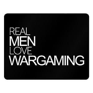 Idakoos Real men love Wargaming - Hobbies - Plastic Acrylic