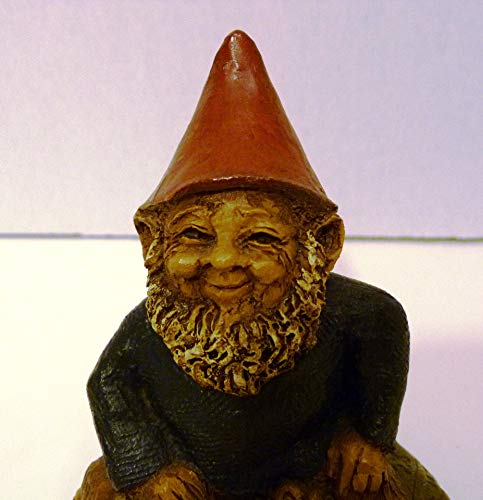 Tom Clark Gnomes 1982 Lucky Sitting on a Horseshoe Hand Signed Made in USA