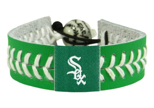 - Gamewear 7731400324 Chicago White Sox St. Patricks Day Baseball Bracelet