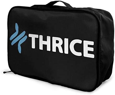 トラベルポーチ アレンジケース スライス Thrice 旅行収納バッグ 衣類収納バッグ 収納専用ポーチ 手提げ 短期出張 多機能 ファスナー 収納便利グッズ 軽量 大容量 便利 ビジネス 海外旅行 整理用