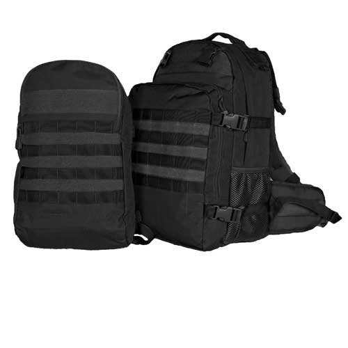 Fox Outdoor Products Dual Tactical Pack System Black [並行輸入品] B077QLB4LF