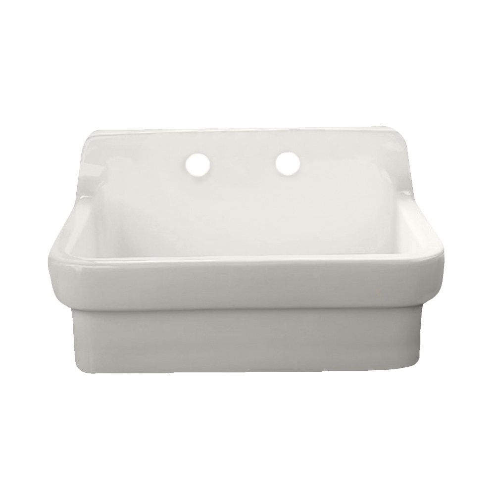 American Standard 9062.008.020 Country Kitchen Sink With 8 Inch Centers,  White Heat   Single Bowl Sinks   Amazon.com