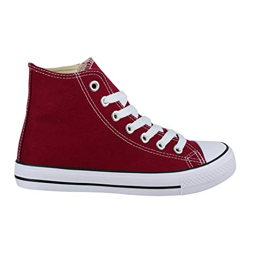 Sport Unisex Donna Per Sneaker nbsp; Tessile Scarpe Sneakers Top High 36 Uomo Elara EqnZdq