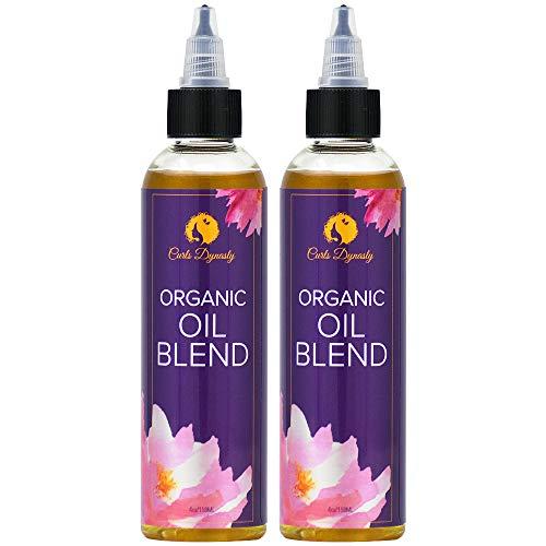 (Curls Dynasty Organic Oil Blend 4 oz (Pack of 2))