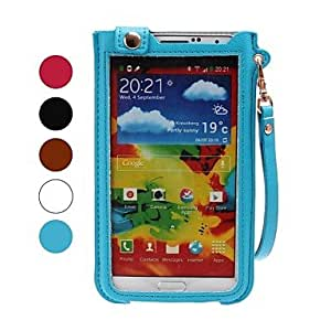 GJY Lanyard Leather Case with Stand for Samsung Note3 N9000