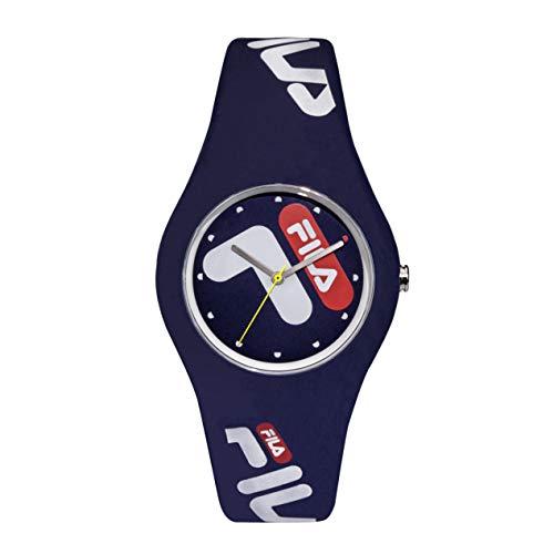 Fila – fila n°185 – 38-185-002 – reloj Mens Analog Quartz Watch with Silicone Bracelet 38-185-002