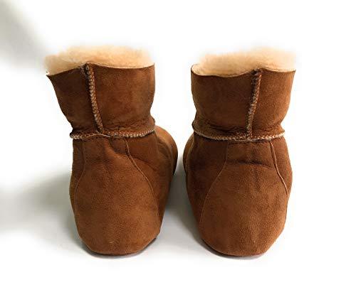 Ante Woolfield Por chestnut Casa Mujer De Zapatillas Estar Para Brown gxPXqpwxrS