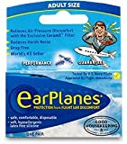 Ear Plugs - Airplane Travel Ear Protection And Pain Reliever (1-Pair - Adult)