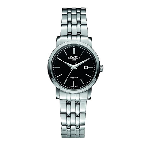 Roamer 709844-41-55-70 Mens Classic Line Silver Steel Watch