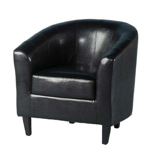Tempo Tub Stuhl in schwarz–Farbe: schwarz