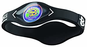 Power Balance Small Black/White Lettering