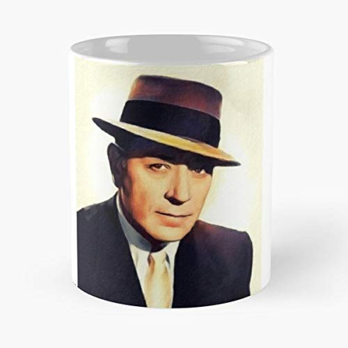 George Raft Actor Actress - Best Gift Ceramic Coffee Mugs 11 Oz