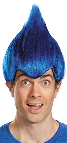 Disguise Wacky Adult Wig Color-One (Wacky Halloween Costumes)