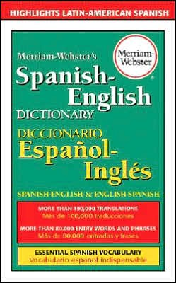 By Merriam-Webster,By Eileen M. Haraty Merriam-Webster's Spanish-English Dictionary(text only)1st (First) edition [Paperback]2002 pdf epub