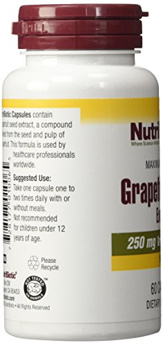 Nutribiotic Gse Capsules Caps, 250 Mg, 60 Count by Nutribiotic (Image #6)
