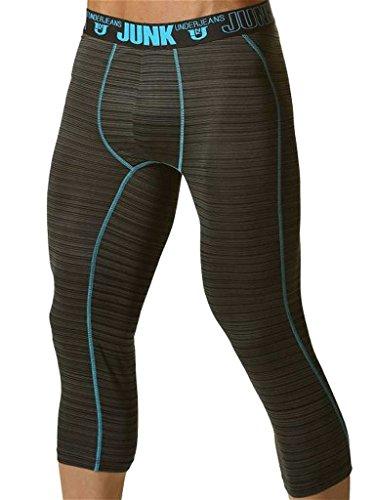 Junk-Balance-Street-Runner-Shin-Length-Underwear-Aqua-Blue
