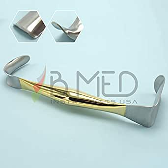 Breast Retractor Double Ended Small Blade 22mm x 54mm Large Blade 37mm x 70mm