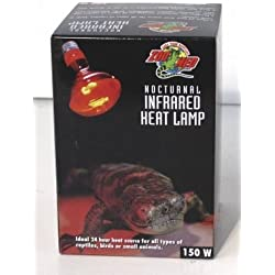 ZOO MED/AQUATROL, INC - RED INFRARED HEAT LAMP 150W