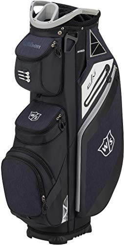 Wilson Staff EXO Cart Golf Bag, Black ()