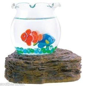 Magic Swimming Fish Bowl No Maintenance Desktop Toy - Fish Tank Kids