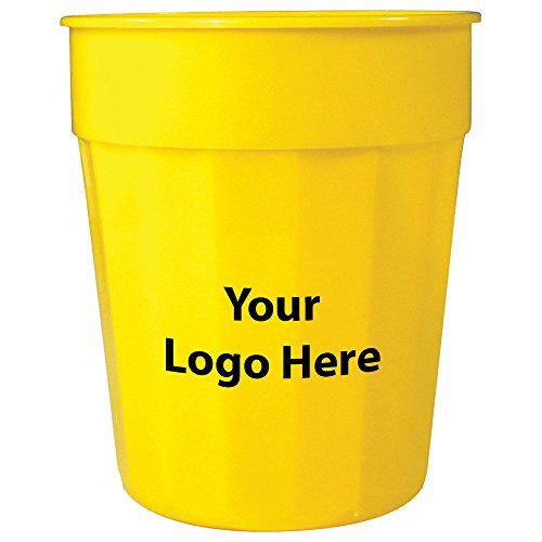24 Oz. Fluted Stadium Cup - 250 Quantity - $0.90 - Promotional Product/Bulk with Your Logo/Customized