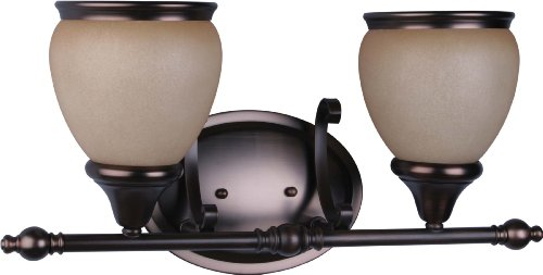 Volume Lighting Camden 2-Light Florence Bronze Bathroom Vanity