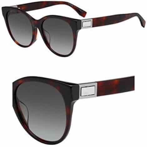 93ad8dea2bdf8 Sunglasses Fendi Ff 311  F S 0086 Dark Havana   HA brown gradient lens