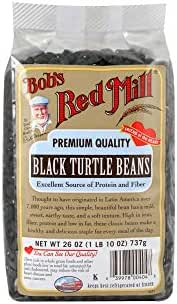 Bob's Red Mill Black Turtle Beans, 26 Oz (4 Pack)